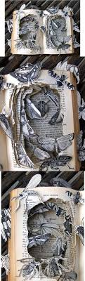 book sculpture by kelly cbell find this pin and more on book arts books used as art things made