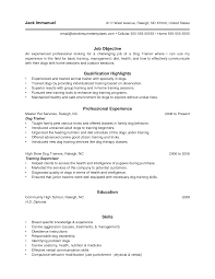 Dog Trainer Sample Resume Bunch Ideas of Dog Trainer Resume Also Download Resume Grassmtnusa 1