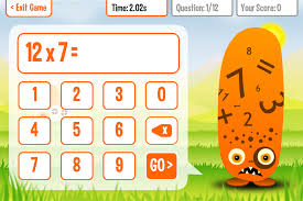 KeyStageFun   Squeebles Times Tables 2