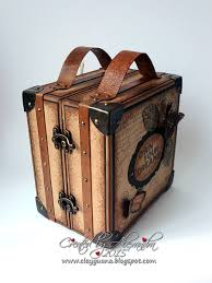 Suitcase With Drawers Clayguana Vintage Style Suitcase With A Drawer Album Papercraft