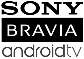 android tv logo. sony bravia(kd, kdl series) android tv tv logo