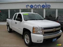 2007 Chevrolet Silverado 1500 LT Z71 Extended Cab 4x4 in Summit ...