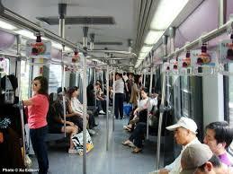people inside subway train. Delighful Subway Shanghai Metro Line 4 Train With People Inside Subway Train R