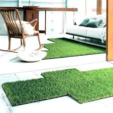 grass area rug outdoor rugs pet turf artificial new r
