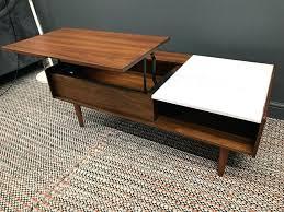 pop up storage coffee table west elm mid century pop up storage coffee table furniture west