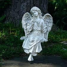 angel lawn ornaments decorative sitting angel outdoor garden statue outdoor angel ornaments angel lawn ornaments