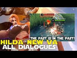 HILDA NEW VOICE ACTRESS AND DIALOGUES NO MORE REAL WARIA IS HERE! MOBILE  LEGENDS UPDATES MLBB NEWS! - YouTube