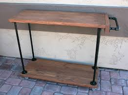 diy rustic bar.  Rustic Bar Cart Handle On Diy Rustic