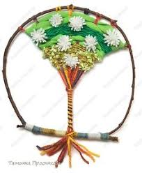 Tree Branch Dream Catcher Weave A Tree Of Life Using Found Branches Yarn Ribbon And 85