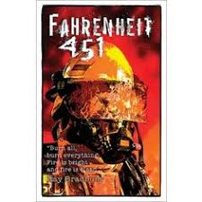 fahrenheit 451 clic novel poster features a dramatic image and a e from the clic