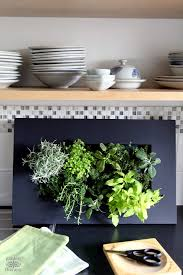this vertical herb planter will spice