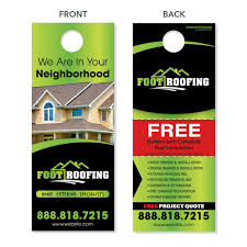 cool door hangers. Storm Damage Door Hanger For Roofers Cool Hangers