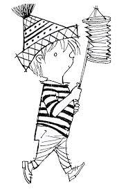 Kids N Funcom Coloring Page St Maarten Lampion Jip