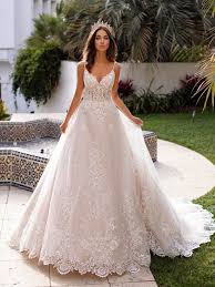 moonlight couture h1397 was made for a bride searching for that royal look this lace