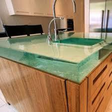 glass unique countertops