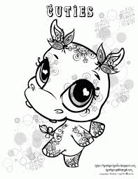 Small Picture Coloring Pages Baby Turtle Animal Coloring Page For Kids Baby