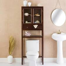 Bathroom Over Toilet Rack Decorative Bamboo Over Toilet E Saver ...