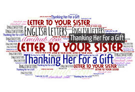 Write A Letter To Your Sister Thanking Her For A Gift | Informal Letter