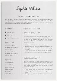Layout Resume | Resume CV Cover Letter