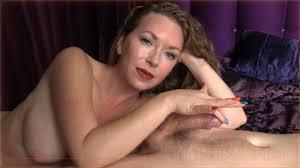 Two finger teasing handjob