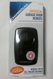 Chamberlain Klik3u Clicker Universal Garage Door Opener Remote ...