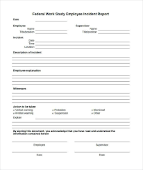 Incident Report Template Microsoft Word New Employee Incident Report Template Word Injury Document Stormcraftco