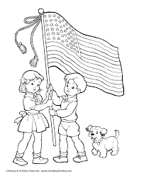 Independence Day Coloring Pictures July 4th Coloring Pages Wave The