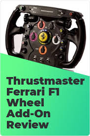 Players who purchase the michael schumacher deluxe edition will receive exclusive content and three days early access. Thrustmaster Ferrari F1 Wheel Add On Review Worth Buying In 2020
