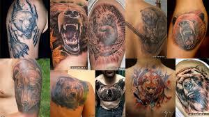 значение тату медведь клуб татуировки фото тату значения эскизы