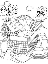 printable summer coloring pas color