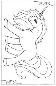 Unicorno Immagini Da Colorare Per Bambini Gratis Con Disegni