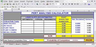 Pert Cpm Chart Template For Excel Templates Chart Calculator