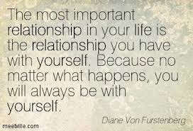 Relationship With Yourself Quotes Best of 24 Fantastic Quotes From Diane Von Furstenberg Inspiration