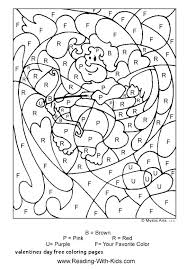 Free Coloring Printable Pages Free Coloring Pages Valentines Day