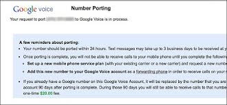 how to port a phone number how and why to port your old phone number to google voice