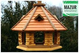 wooden bird feeders details about table feeder feeding station birds house hotel best gift easy plans wooden bird feeders