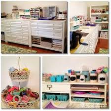 New Studio / Craft Room / Martha Stewart Craft Room Craft Room  Organisation, Scrapbook Room
