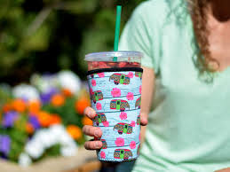 On our way there we had met a family of raccoons, one with a tim horton cup stuck on its nose! Travel To Go Food Containers Dunkin Donuts Tim Hortons And More Reusable Insulated Neoprene Iced Coffee Beverage Sleeve 2 Pk Large 32oz Black Animal Paw Print Mcdonalds Cold Drink Cup Holder For