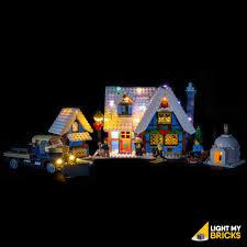 Lego Winter Village Lights Light My Bricks Lego Winter Village Cottage 10229 Lighting