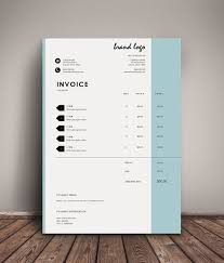 Modern Invoice The Nelson Invoice Template Receipt Ms Word Receipt Template