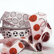 <b>Sports Grosgrain Ribbon</b> | Shop with <b>Ribbons</b>.com Now