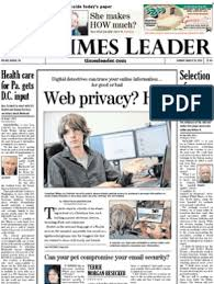 Times Leader 03-10-2013 | Right To Keep And Bear Arms | Computer Security