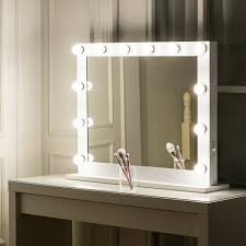 Bathroom Light Dimmer Details About Hollywood Makeup Vanity Mirror With Lights Stage Large Beauty Dimmer Led 10 Bulb