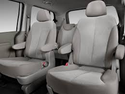 kia sedona rear seats