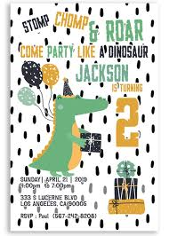 Dinosaur Birthday Invitation Dinosaur Birthday Invitation Dino Party