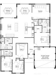Architecture Exciting Floor Plans Of Homes Frasiers Apartment Open Floor Plan Townhouse
