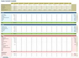 Sample Of Family Budget Family Budget Spreadsheet Template Blank Budget Template Excel
