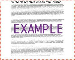 write descriptive essay mla format homework academic service write descriptive essay mla format