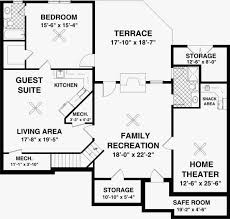 1800 sq ft house plans with walkout basement best of colonial style house plan 3 beds