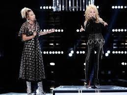 Miley Cyrus Covers U0027Joleneu0027 PreHaircut Reminds Us What She Used Backyard Sessions Jolene
